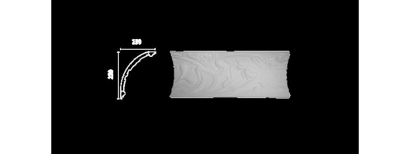 Декорированный карниз К-173