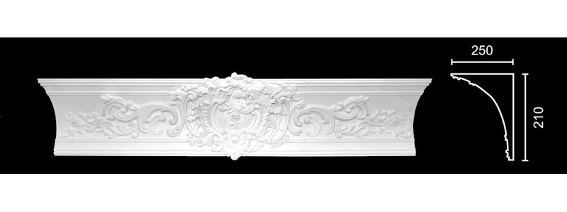 Декорированный карниз К-159