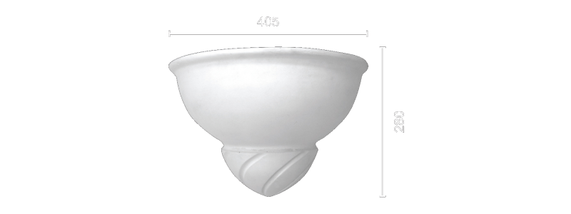 Гипсовый светильник СВ-1