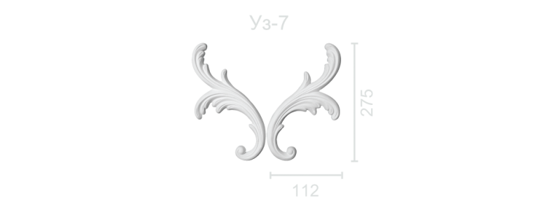 Орнамент  УЗ-7